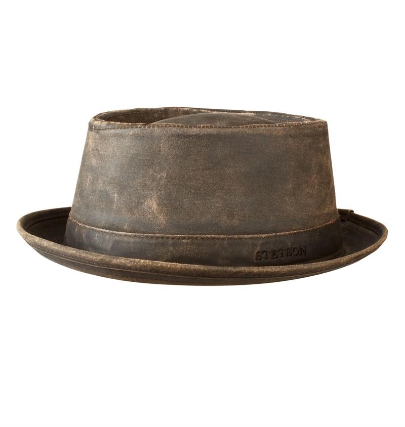 Stetson Odenton Pork Pie Hat Brown
