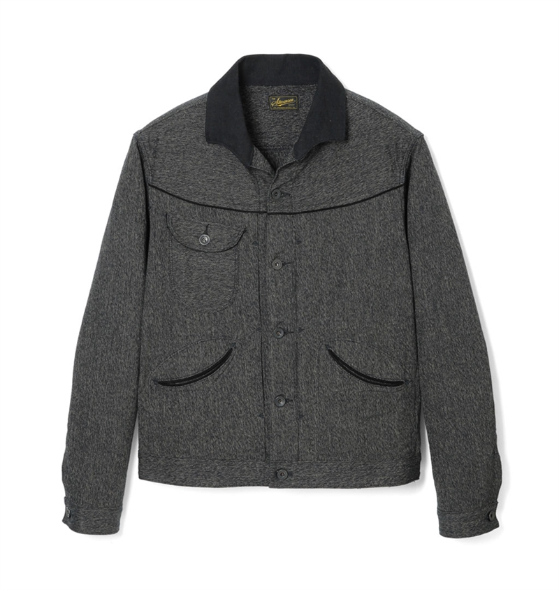 Stevenson Overall Co. - Deputy Jacket - Heather Grey