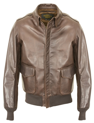 Schott Nyc - A-2 Leather Flight Jacket - Brown