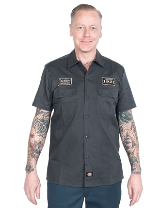 Dickies - North Irwin Shirt - Charcoal