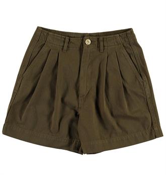 427341f4df3a Girls Of Dust - River Shorts Herrinbone Twill - Khaki