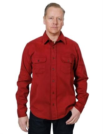 Indigofera - Alamo Shirt - Guajillo Red 04929c86b5e52