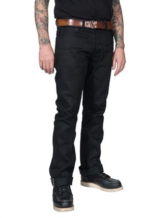 Indigofera - Iconic Hawk Jeans Gunpowder Black Selvage Jeans - 14oz 6b74c1db7f5af
