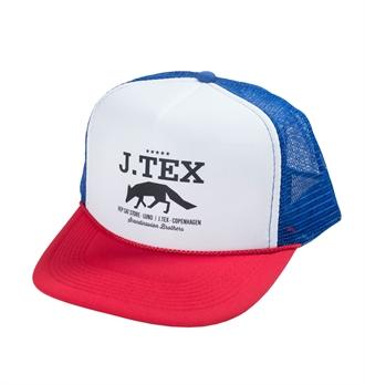 eccb89e33c6 J Tex - Scandinavian Brothers Trucker Cap - Red White Blue
