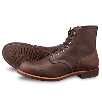 536d4093366 Red Wing Shoes 8111 Iron Ranger - Amber Harness