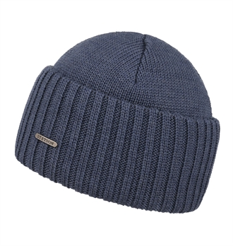 afb0f22e097 Stetson - Northport Wool Beanie - Denim