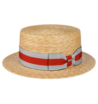 06c4c166 Stetson - Wheat Boater Straw Hat