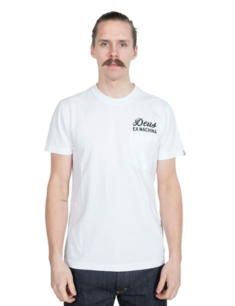 Deus - Venice Address Pocket Tee - White