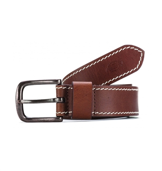 Dickies - Branchville Leather Belt - Brown