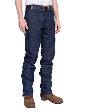 Eat Dust - Nautic Fatigue Azalea Pants - Indigo Blue