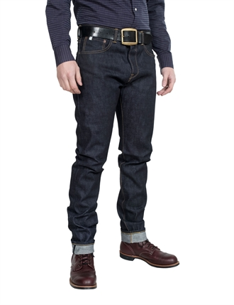 Edwin - Classic Regular Tapered Rainbow Selvage Denim - Raw State 13.5 oz