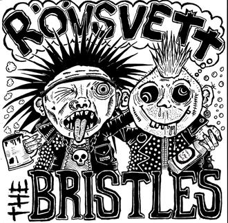 328f4cac4c1 R  246 vsvett The Bristles - Split EP (Black Vinyl) -