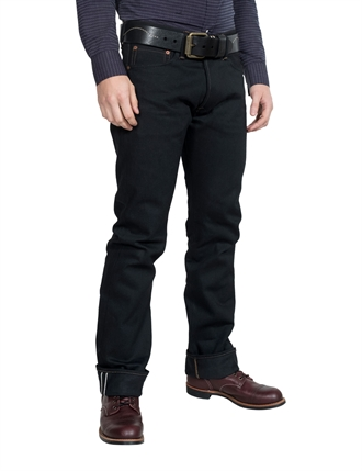 Indigofera - Clint Thunder - Black Selvage Jeans - 14oz