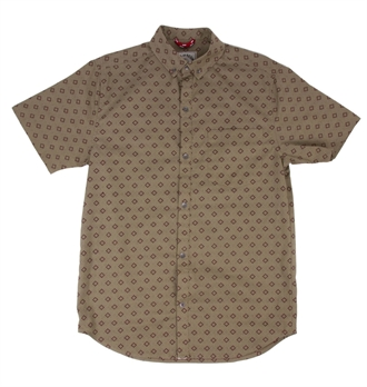 Iron & Resin - Diamante Shirt - Tan