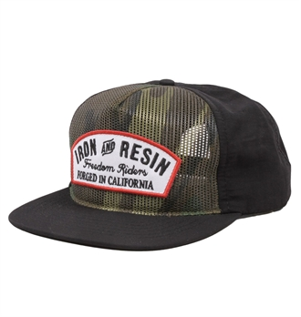 Iron & Resin - Drift Mesh Cap - Camo