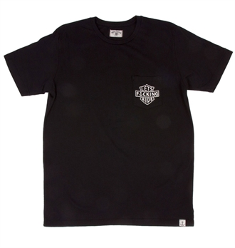 Iron & Resin - Lets Effin Ride Pocket Tee - Black