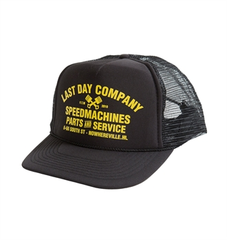 LDC - Speedmachines Trucker Hat - Black