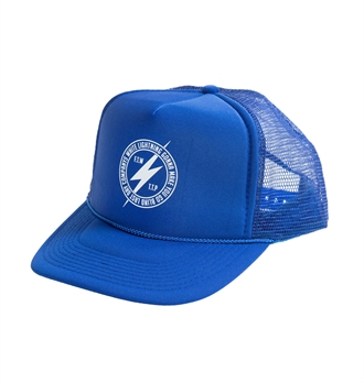 LDC - White Lightning Trucker Hat - Blue