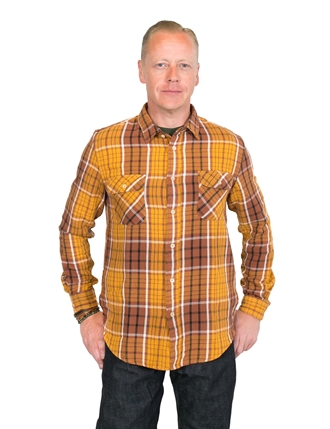 Levi´s Vintage Clothing - Shorthorn Shirt - Brown Check