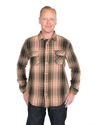 Levi´s Vintage Clothing - Shorthorn Shirt - Green Check