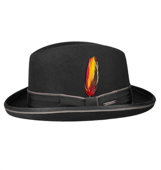 Stetson - Homburger Rain hat - Black