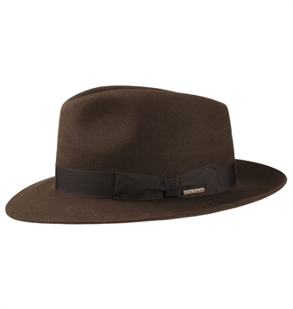 Stetson - Fedora Hat Penn - Brown