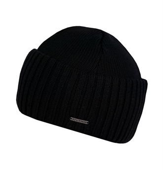 Stetson - Northport Wool Beanie - Black