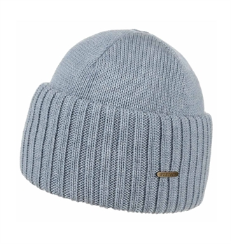 Stetson - Northport Wool Beanie - Pale Blue