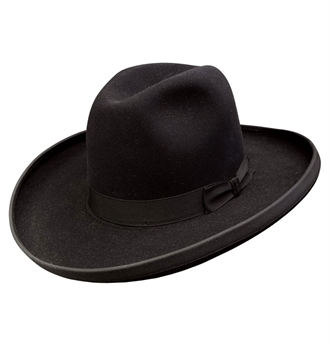 Stetson - Sheridan Old West Hat - Black
