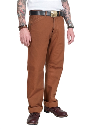 Stevenson Overall Co. - Visalia Original Selvage Canvas - Brown Duck