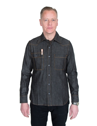 a709c5110b Tellason - Topper Denim Shirt 7.5oz