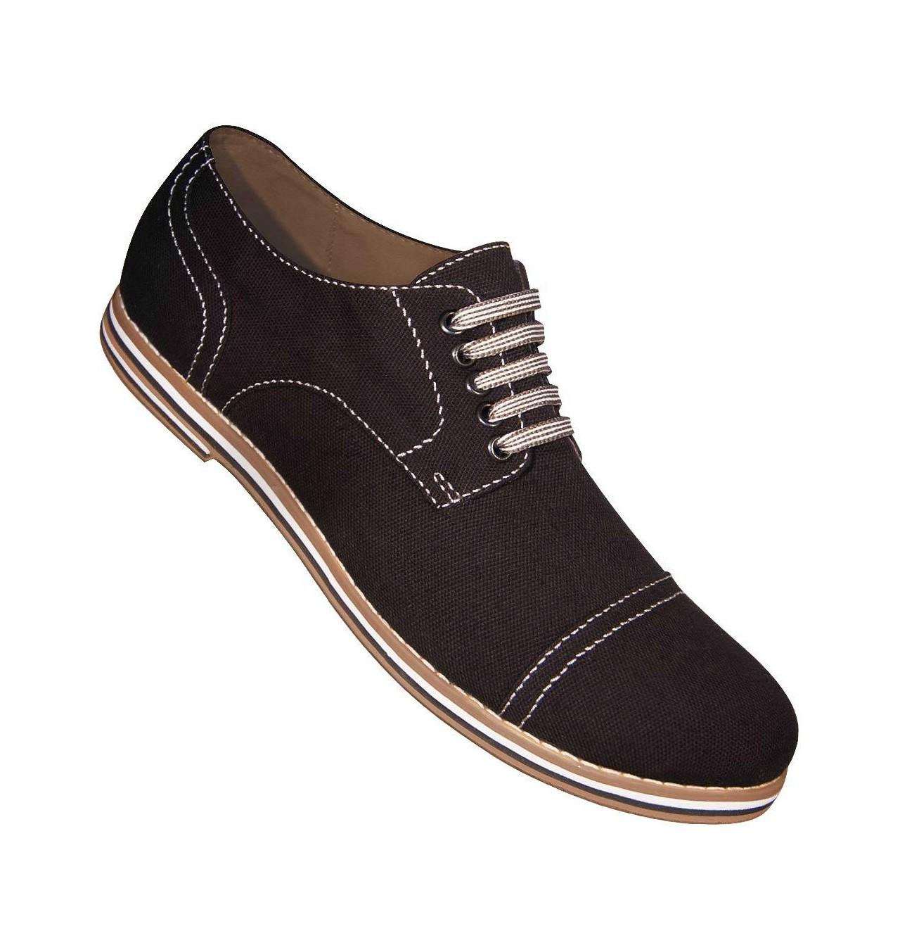 Aris Allen Canvas Captoe Dance Shoes (Men´s) Black