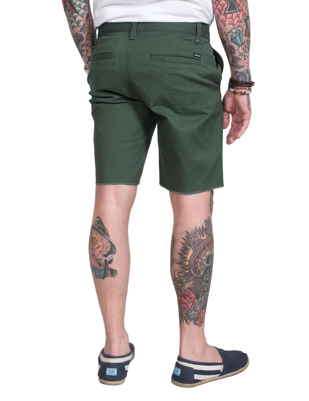 Brixton - Toil II Shorts - Chive a64dd228120