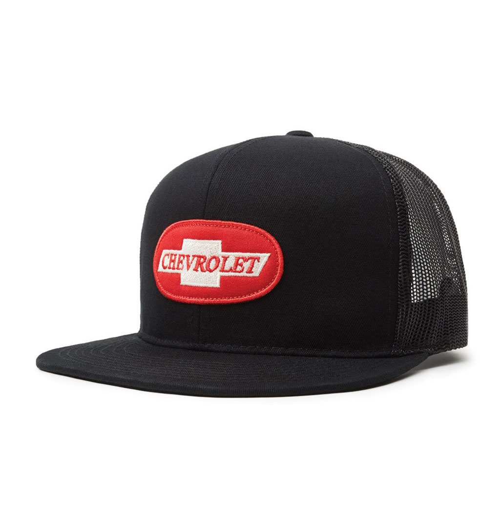 Brixton x Chevy - Michigan MP Snapback - Bel Air Black