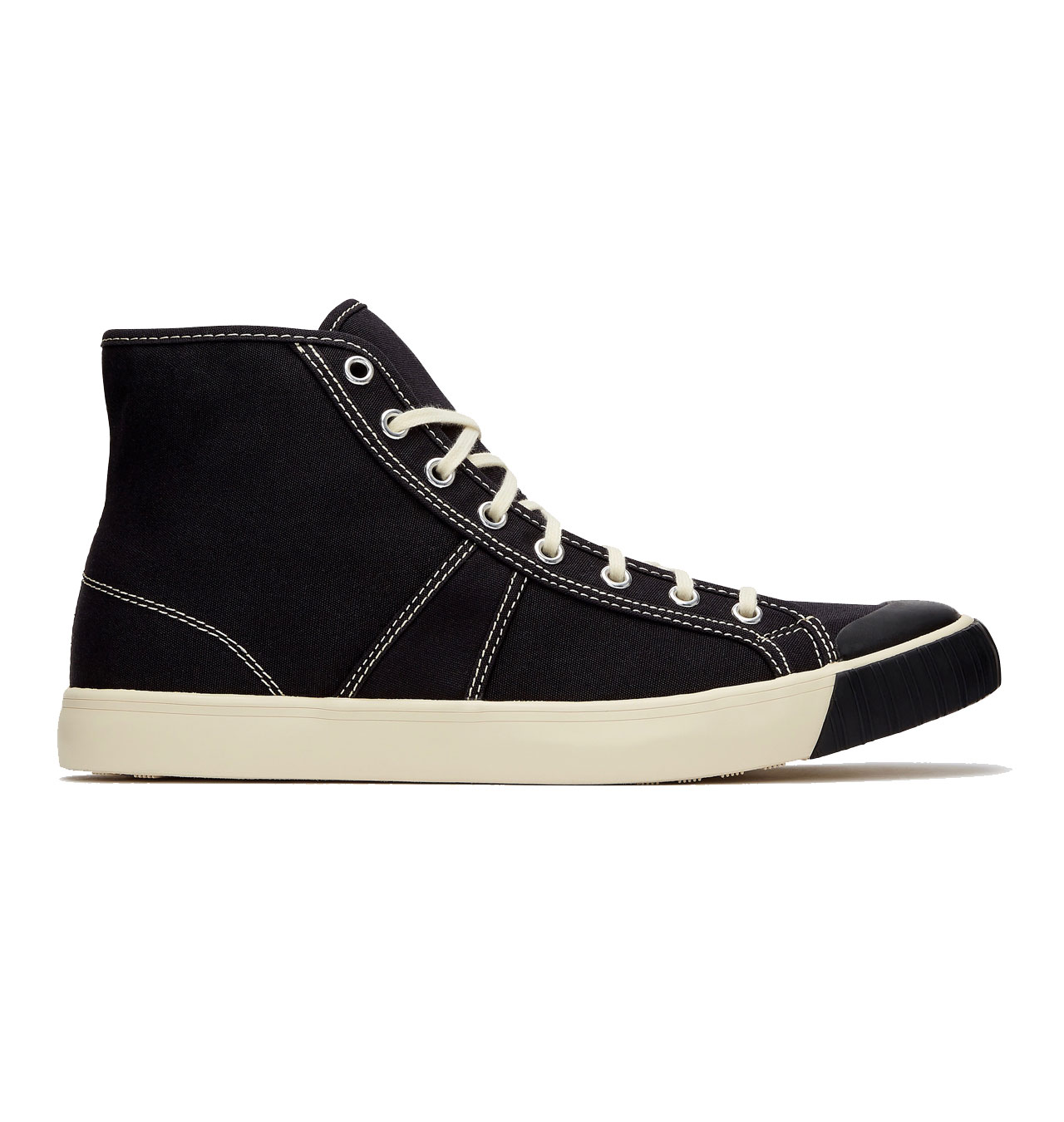 Colchester Rubber Co - 1892 National Treasure High Top - Coal Black