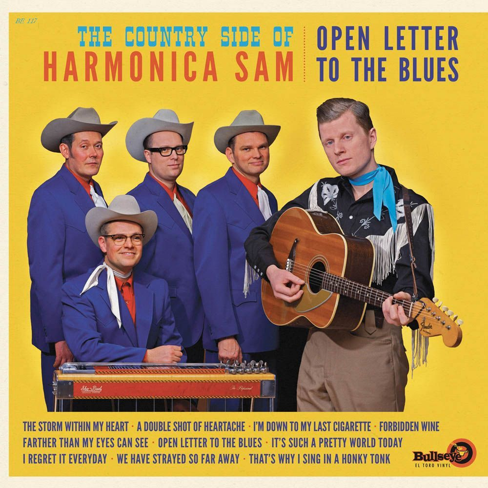 Country Side Of Harmonica Sam - Open Letter to the blues - LP