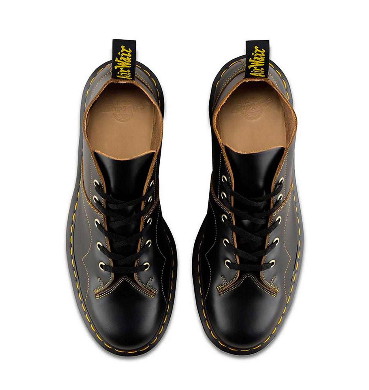 Dr Martens Church Monkey Boots Vintage Smooth Black