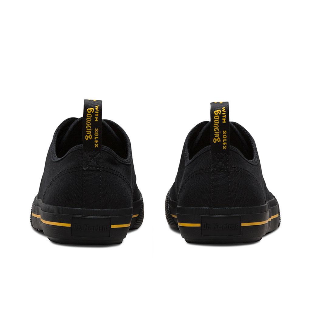 311cb709 Dr Martens - Pressler Canvas Shoe - Black