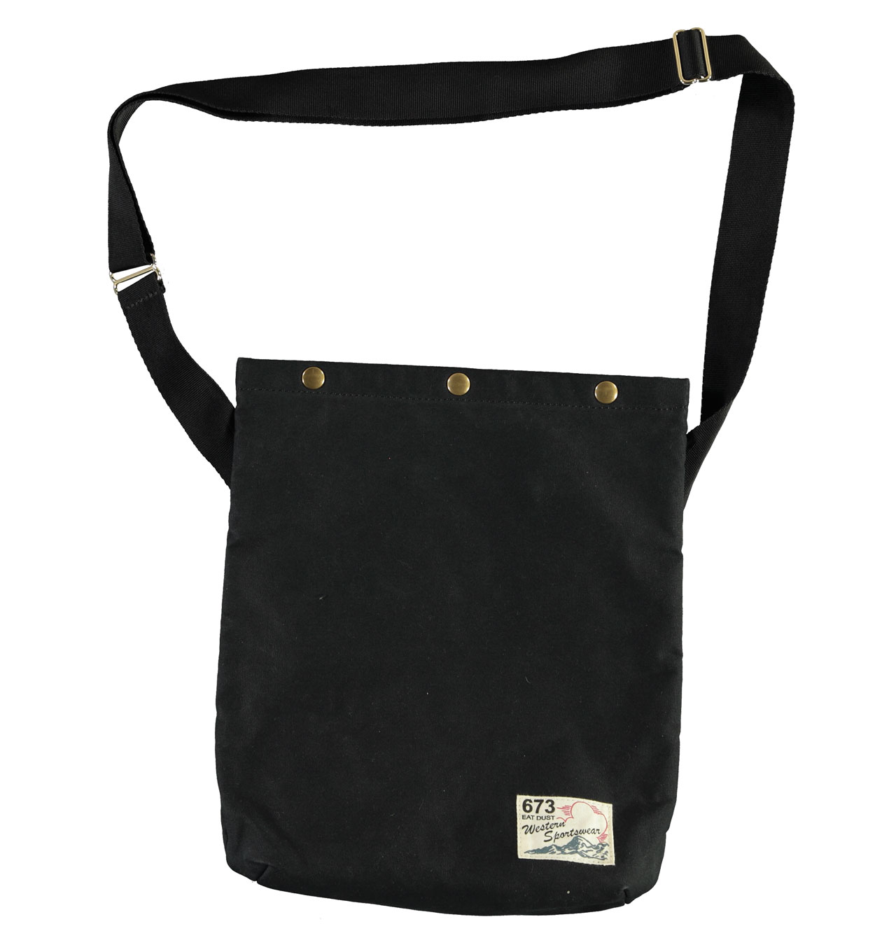 Eat Dust - Mule Bag Medium Canvas - Black