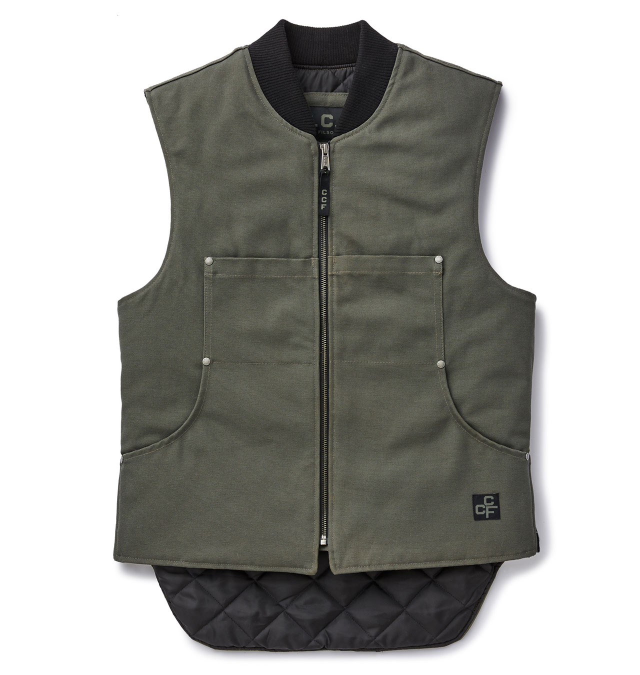 Filson - CCF Work Vest - Cannonball Green