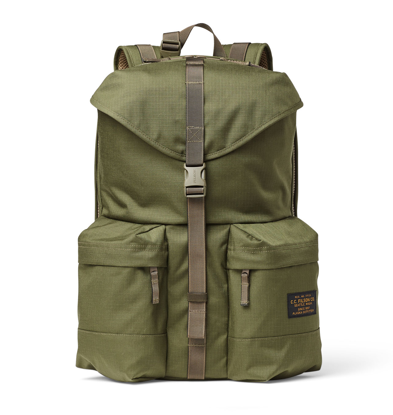 Filson - Ripstop Nylon Backpack - Surplus Green