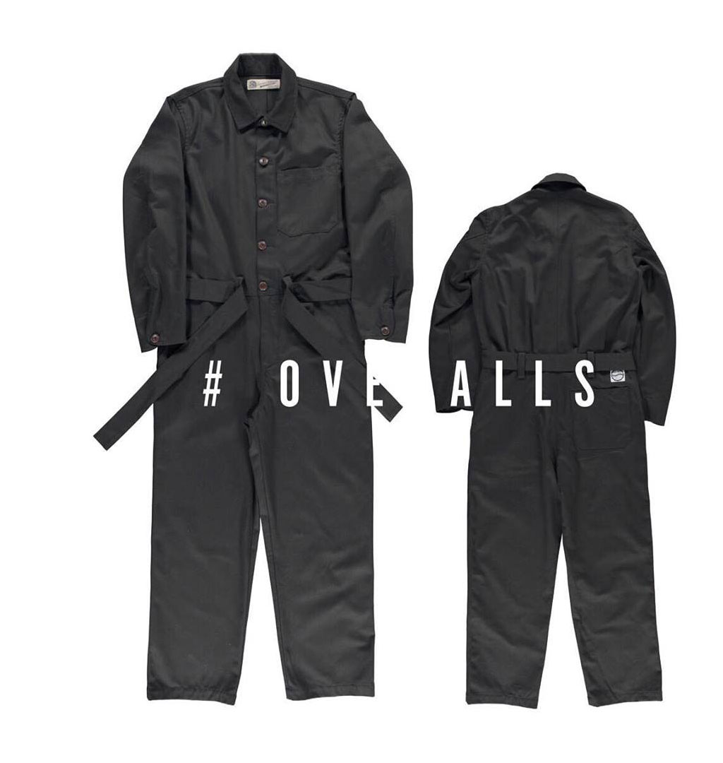 Girls Of Dust - Service Overalls Como - Black
