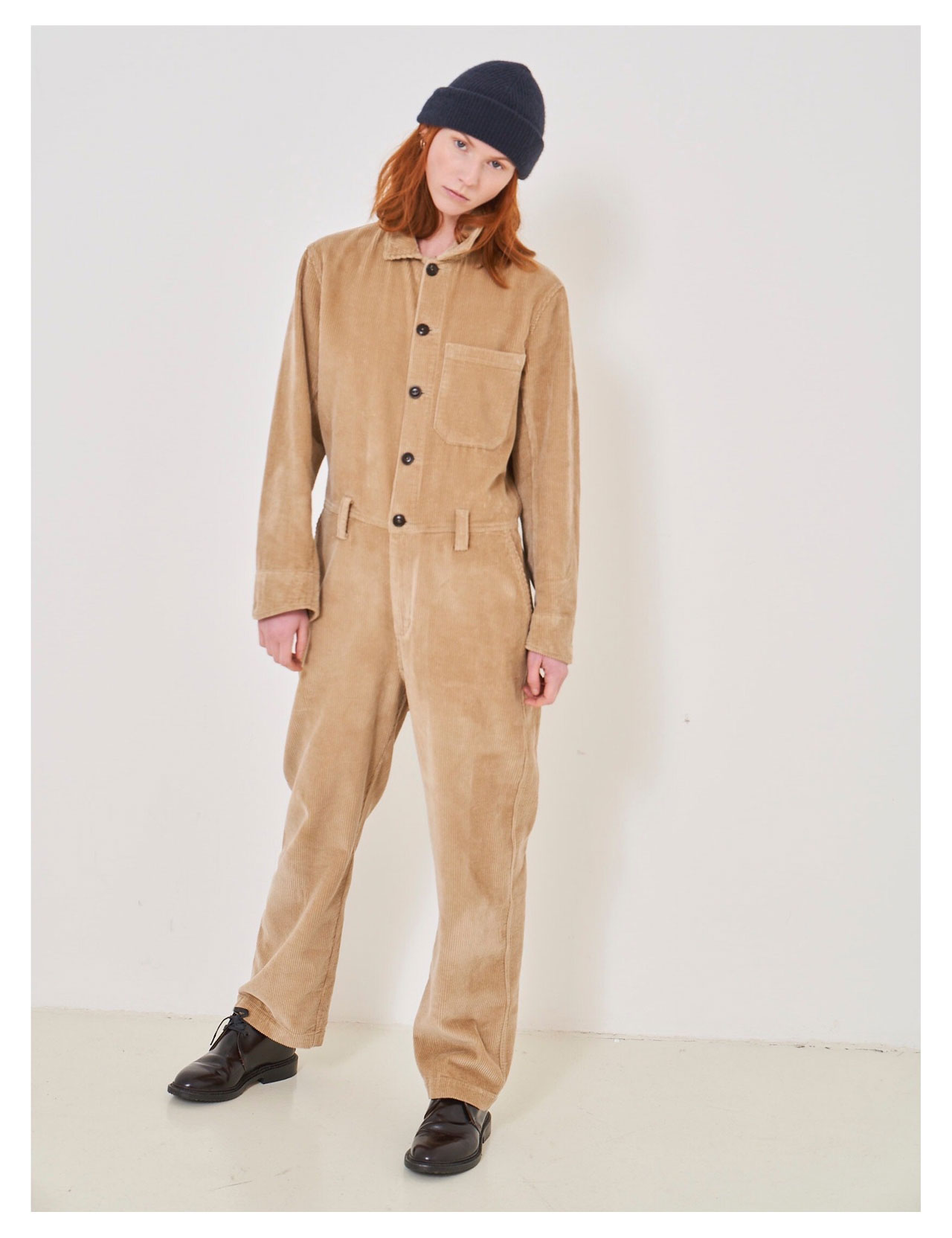 Girls Of Dust - Service Overalls Genua Cord - Sand