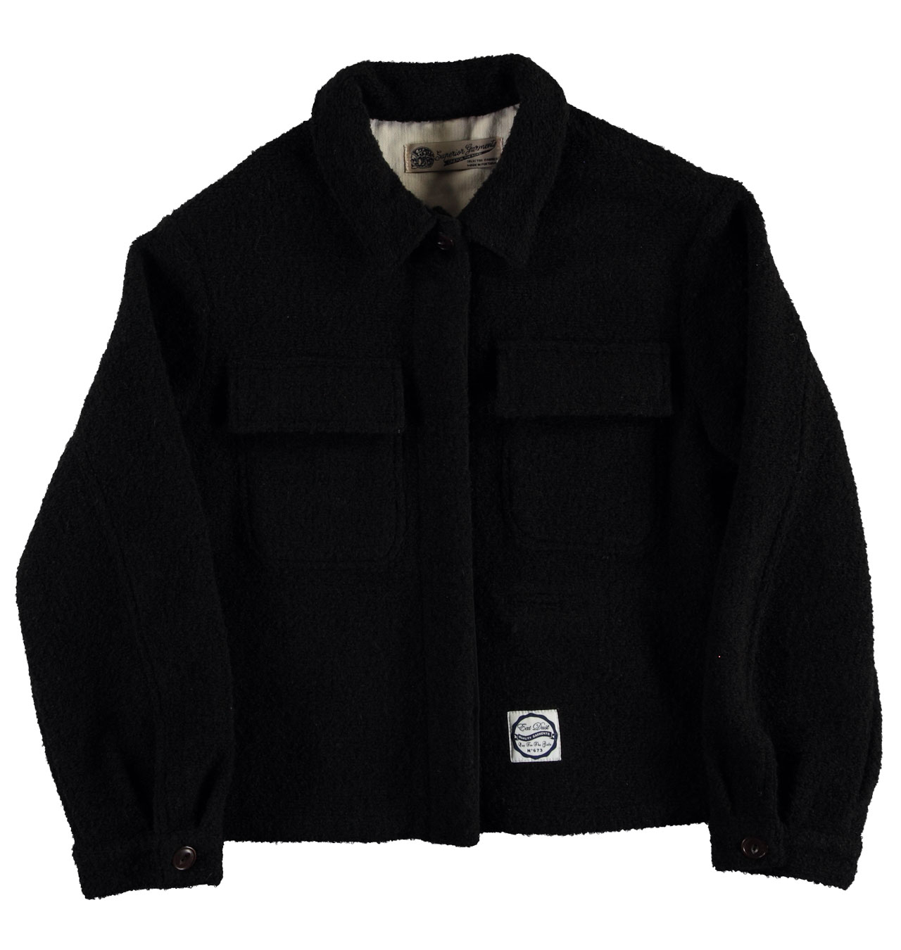 attractive & durable choose authentic high quality Girls Of Dust - Womens Worker Tormenta Jacket - Black