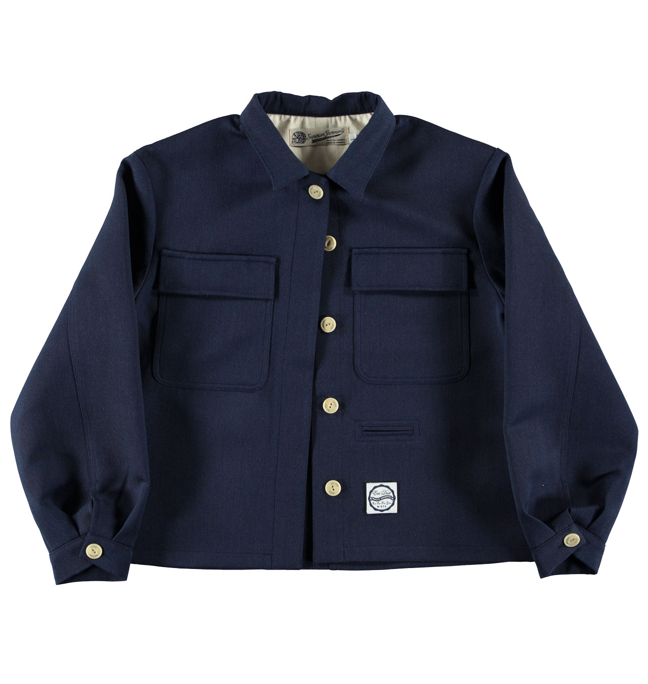new arrival latest selection of 2019 men/man Girls Of Dust - Womens Worker Wool Jacket - Navy