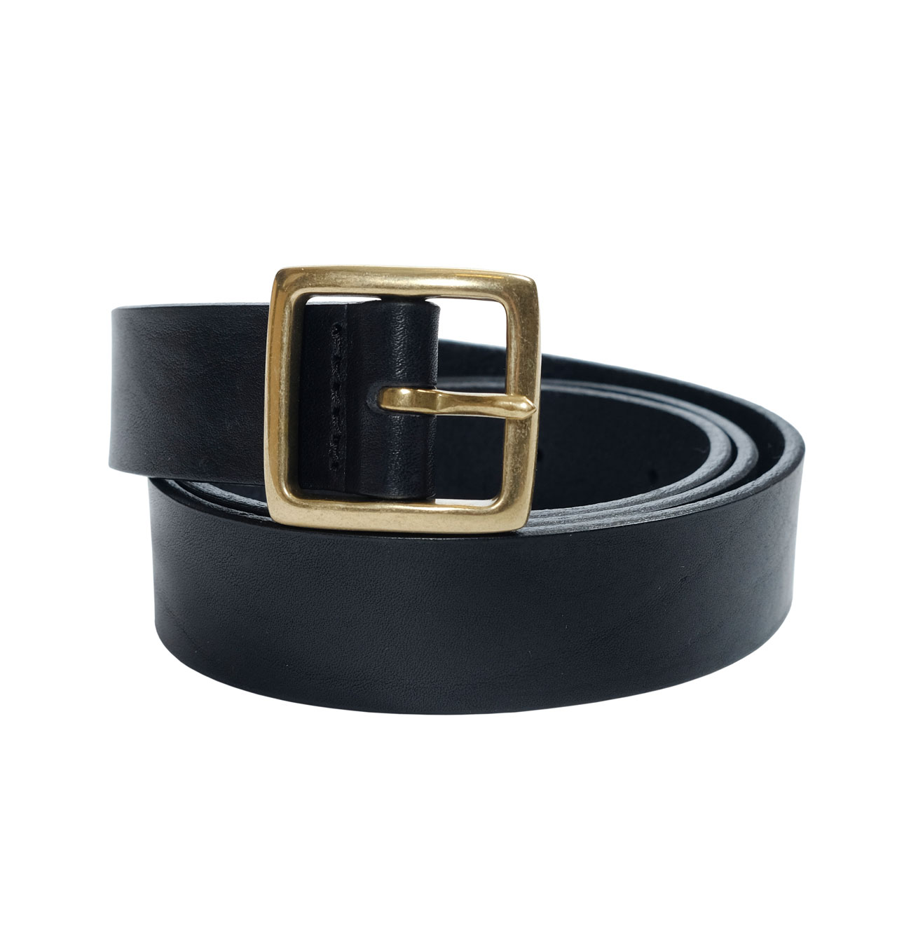 Girls Of Dust - X Leather Belt Small - Black