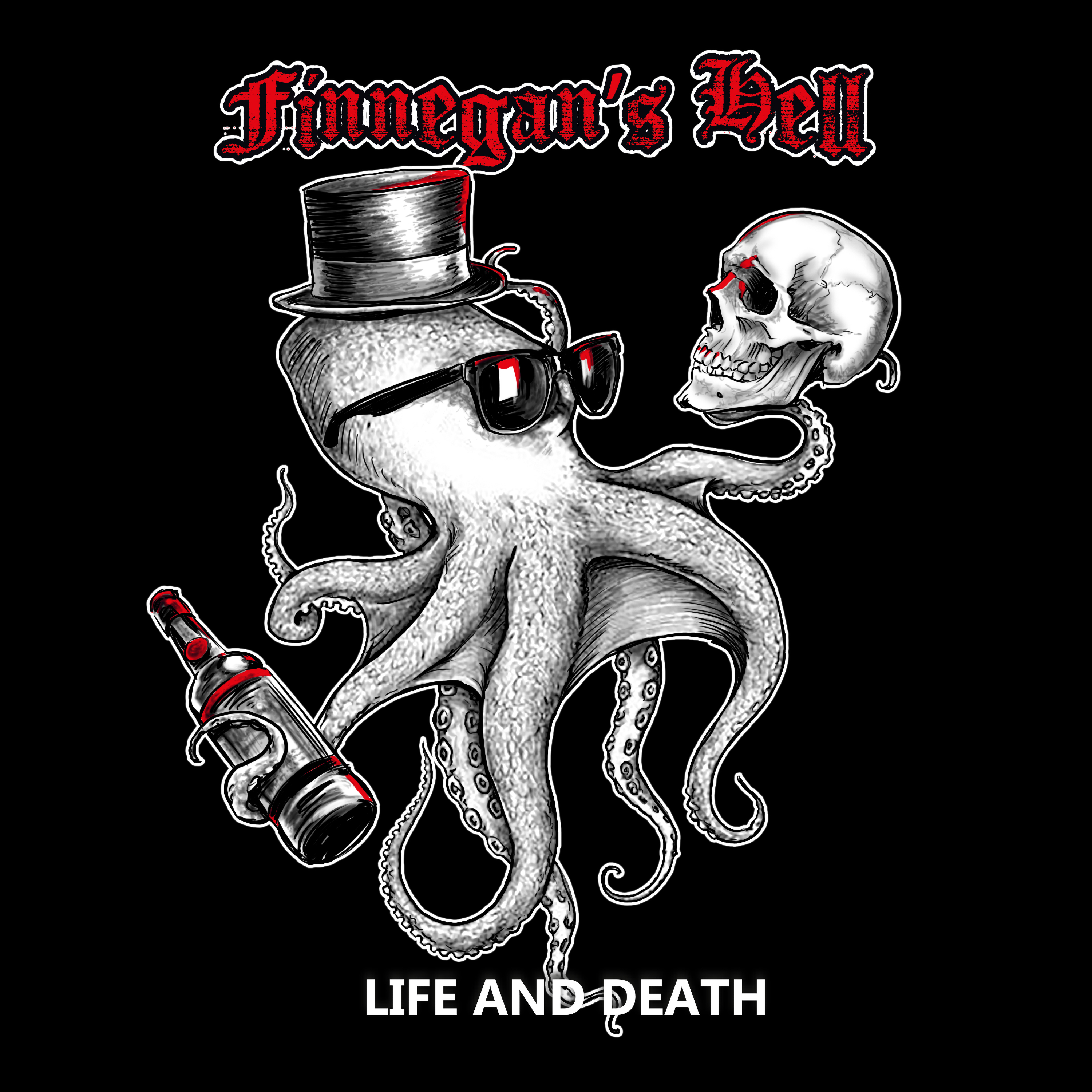 Finnegans Hell - Life And Death - CD