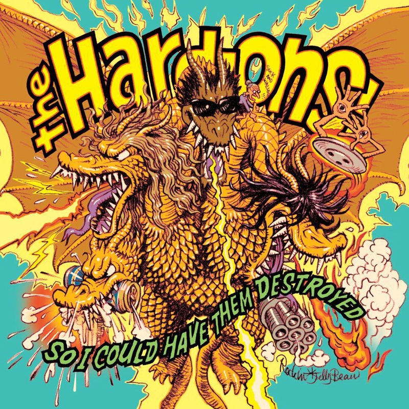 Hard Ons - So I Could Have Them Destroyed - LP + CD