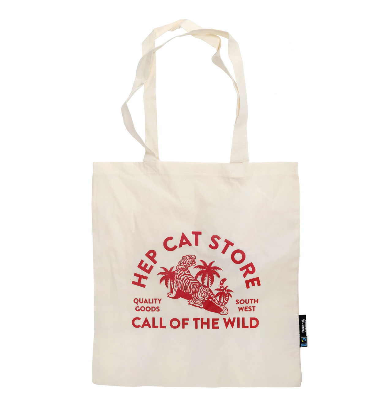 HepCat - Call Of The Wild Tote Bag - Off White