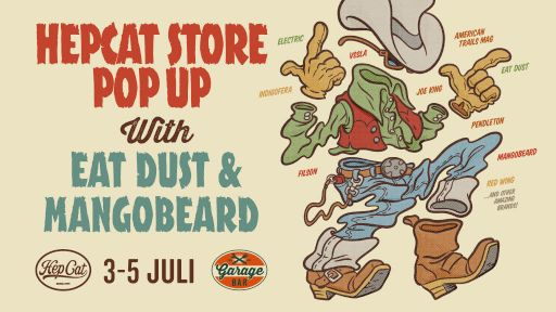 HepCat Store merch and in store events